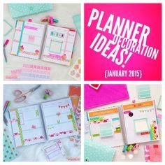 Planner Decoration Ideas January 2015