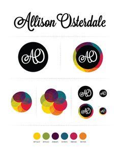 Allison Osterdale Personal Brand Graphic Design
