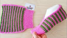 New design knit ladies booties model Knitting Socks Baby Knitting Patterns, Knitting Stiches, Knitting Socks, Free Knitting, Crochet Stitches, Knit Crochet, Crochet Patterns, Knitting Needles, Crochet Hooded Scarf