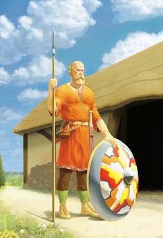 4th to 5th Century Alemannic warrior by Zac Smith on DeviantArt