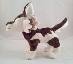 (9) Name: 'Sewing : Wolf Plush Pattern