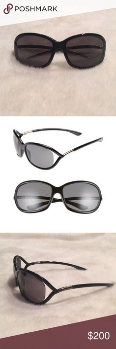 37a79da29638 Tom Ford Jennifer Black Open Temple Sunglasses Excellent condition. Like  new. Only worn a