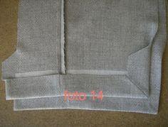 Esta entrada está dedicada a la confección de una chaqueta de manera industrial, lo que permite un ahorro considerable en cuanto al tiempo ... Sewing Paterns, Dress Sewing Patterns, Sewing Coat, Sewing Clothes, Sewing Hacks, Sewing Tutorials, Diy Clothes Making, Couture Sewing Techniques, Fashion Infographic
