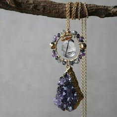 Bohemian princess necklace by ATELIER Gaby Marcos