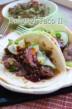 Bulgogi Taco (Korean fusion recipe) Korean taco by Heart, Mind, and Seoul