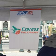 . @expressdrugsrx is a proud sponsor of the #JDRF One Walk today. Thousands of people walked across the Brooklyn Bridge to raise awareness and money for Type 1 Diabetes.  Almost $1000000 was raised! by expressdrugsrx