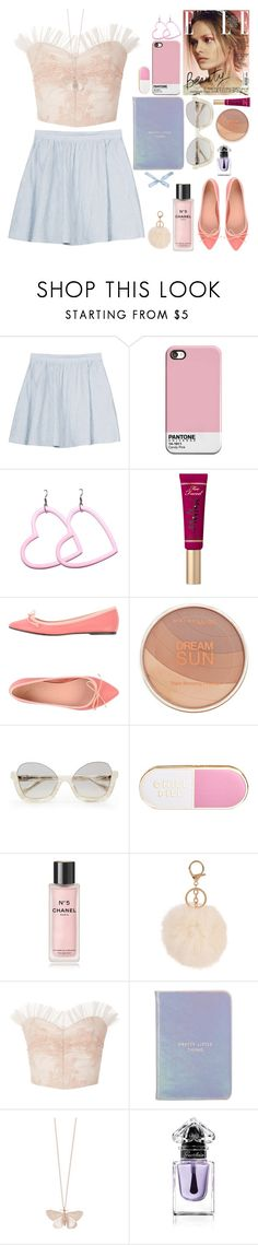 """Lana is cool"" by gb041112 ❤ liked on Polyvore featuring Joie, Maybelline, ban.do, Chanel, Armitage Avenue, Rodarte, Kate Spade, Alex Monroe and Guerlain"