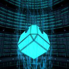 Digital Castaway Daily Render - Power Cube #cinema4d #c4d #render #aftereffects #design by digitalcastaway