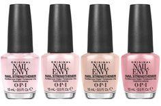 OPI Nail Envy Strength in Color Collection nail envy - Nails Opi Nail Envy, Opi Nails, Manicure And Pedicure, Opi Polish, Nail Polish Colors, Color Nails, Luxury Nails, Latest Makeup, Perfect Nails