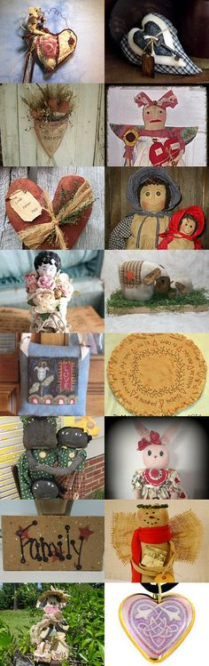 A Mother's Love by PaxtonValleyFolkArt on Etsy--