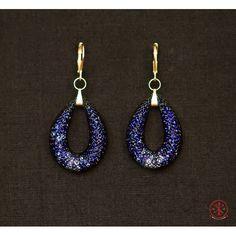 """Earrings """"Night lights"""" Night Lights, Crochet Earrings, Drop Earrings, Handmade, Jewelry, Fashion, Moda, Hand Made, Jewlery"""