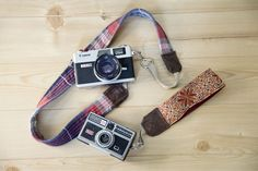 Craft Your Own DIY Camera Strap from a Belt, Shirt, and Boot | Story by ModCloth