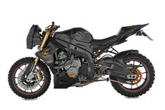 Wunderlich S1000RR dual-sport with TKC-80s #motorcycles