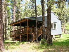 summer cabin in new mexico - small house swoon