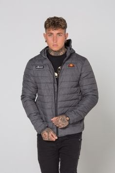 JD Sports is the leading trainer & sports fashion retailer in the UK. Ellesse, Jd Sports, Padded Jacket, Gray Jacket, Sport Fashion, Winter Jackets, Grey, Stuff To Buy, Shopping