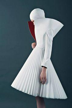 From POLISH Fashion Designer - Kamila Gawrońska-Kasperska SS'14 Collection.