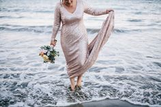 Real Bride Jessica Wears a custom champagne mico sequin bridal gown by Anna Dutton Couture - www.annaduttonbridalcouture.com Photo By Nicola Lemmon Photography Bridal Style, Bridal Gowns, Interview, Anna, Cover Up, Sequins, Bride, How To Wear, Photography