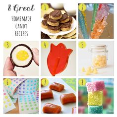 8 Great Homemade Candy Recipes