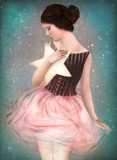 Wish Upon A Star Art Print by Christian Schloe