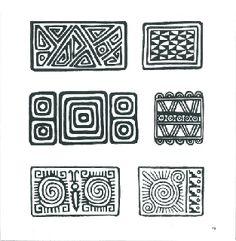 Sampling of Pre-Colombian Incan Symbols Arte Tribal, Aztec Art, Pattern Art, Pattern Design, Aztec Symbols, Mayan Symbols, Viking Symbols, Egyptian Symbols, Viking Runes