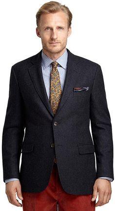 Madison Fit Navy Twill Sport Coat
