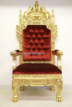 Thrones King & Queen Chairs