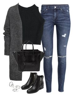 """""""Untitled#3649"""" by fashionnfacts ❤ liked on Polyvore featuring H&M, Acne Studios, 3.1 Phillip Lim and MANGO"""