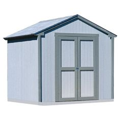 8x8 Kingston Shed with Floor Kit, Wood
