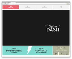 cool functionality + layout / http://captaindash.com/#