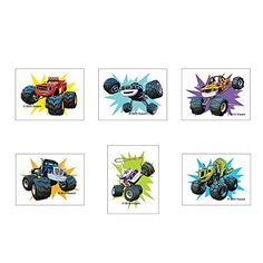 Blaze and the monster machines birthday party favors - tattoos..144 per pack