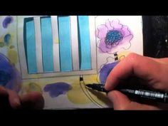 Art Journaling with Milliande - Day 7 - YouTube