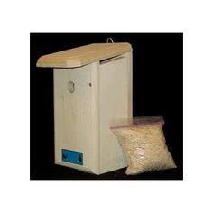 """Chickadee House. Sustainably grown 1"""" thick Eastern White Pine provides superior insullation. Hand crafted with pride in Maine. Warranty: One year. Product Dimensions: 12-1/2""""H x 6-1/4""""W x 8-1/2""""D. Actual Product Weight: 4 lbs."""