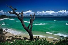 Byron Bay, Australia - a colorful hippie town with great shopping, live music, and a lively and young scene