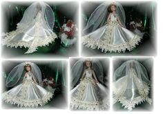 Brautkleid 6 - Handarbeit