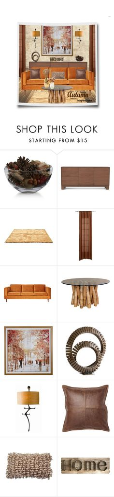 """Autumn Inspirations"" by leanne-mcclean ❤ liked on Polyvore featuring interior, interiors, interior design, home, home decor, interior decorating, Crate and Barrel, Mitchell Gold + Bob Williams, CB2 and Gus* Modern"
