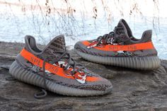 "These YEEZY BOOST 350 V2 Custom ""Beluga Koi"" Bring East to ""West"""