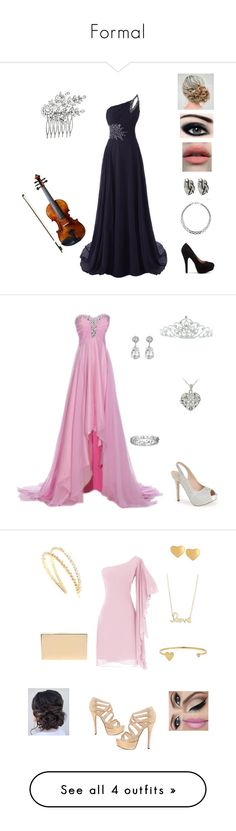 """""""Formal"""" by shadowhunter-8272 ❤ liked on Polyvore featuring John Hardy, Finesque, Crystal Allure, Lauren Lorraine, Effy Jewelry, Kenneth Jay Lane, DB Designs, Kate Marie, Victoria Beckham and Sydney Evan"""