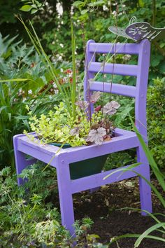 fun garden chair