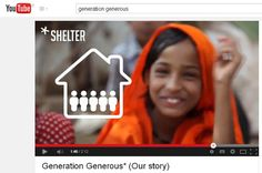 With every bag you purchase, #GenerationGenerous will provide a homeless child in #India with 5 months of safe #shelter.