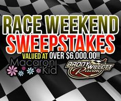 Enter to WIN our Race Weekend Sweepstakes from National Macaroni Kid  (in Richmond Sept. 12)