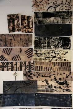 over the rainbow: Human Marks... Mark making workshop with Dorothy Caldwell...........