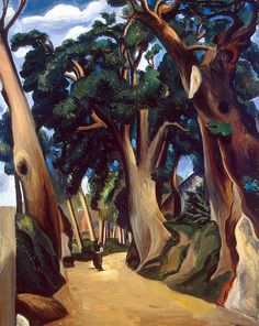 "Andre Derain, ""Collioure"".  French artist, painter, sculptor and co-founder of Fauvism with Henri Matisse"