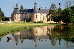One of my most favourite places in France - Saint Fargeau #Yonne #Bourgogne #favourite