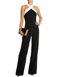 Women Elegant Office Wide Leg Long Jumpsuit