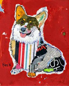 Imágenes Arte Pinturas: Cuadros Modernos de Animales Domesticos, Michel Ke...