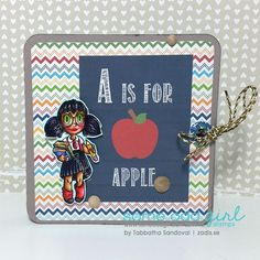 A is for Apple Nerdy Tia