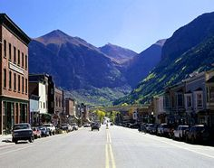 Telluride, Colorado~ one of the prettiest places in the USA