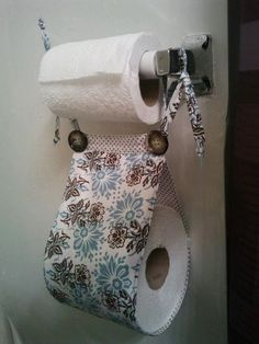 Great Idea For Spare Toilet Paper!