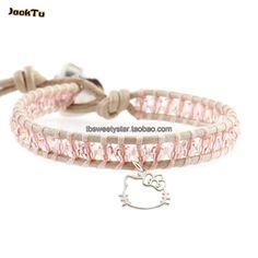>> Click to Buy << Pink Crystal Charm Bracelet Handmade Boho Beaded Super Model Bracelet Gift Dropshipping #Affiliate