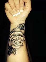Image result for tattoo forearm girl flower